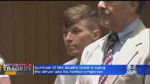 Survivor Of Deadly NH Motorcycle Crash Sues Truck Driver [Video]
