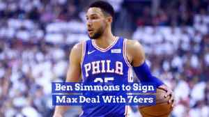 Ben Simmons Signs For The Max With Philadelphia 76ers [Video]
