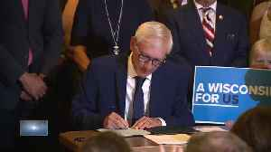 Evers signs Wisconsin budget with 78 partial vetoes [Video]