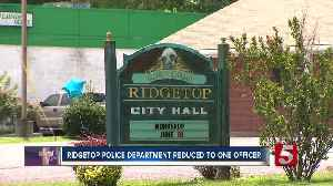 Ridgetop Police officers fired, leaving Chief to stand alone [Video]