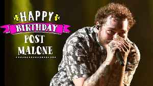 News video: Post Malone releasing first music of 2019 a day after his birthday