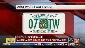 AMBER ALERT issued for two missing northern Florida boys [Video]