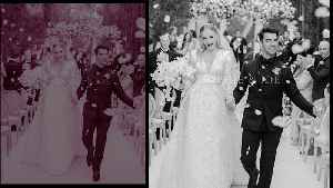 Sophie Turner, Joe Jonas share first official wedding picture on Instagram [Video]