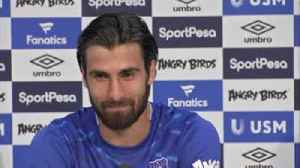 Gomes: Everton 'was love at first sight' [Video]