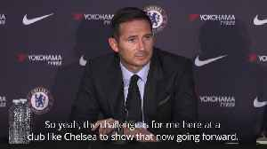 Frank Lampard: Chelsea job is the biggest challenge of my career [Video]