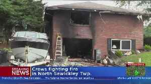 Crews Battle Fire In North Sewickley Township [Video]