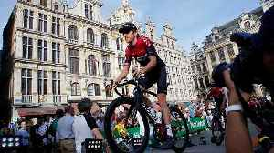 News video: Tour de France 2019 teams line up in Brussels ahead of kickoff