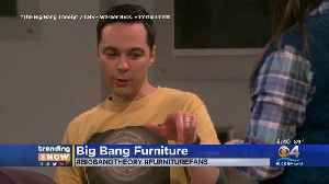 Trending: Big Bang Theory Furniture [Video]