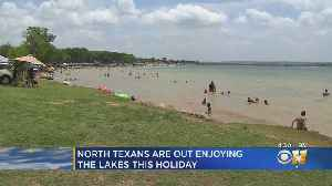 North Texas Families Flock To Lakes On Fourth [Video]