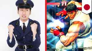Street Fighter ads to recruitcyber police in Japan [Video]