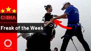 Teenagers in a freezer and a Mortal Kombat girl | China Freak of the Week [Video]