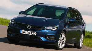 The new Opel Astra Sports Tourer Design [Video]