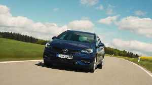 The new Opel Astra Sports Tourer Driving Video [Video]