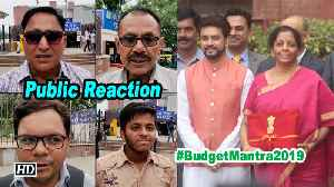 #BudgetMantra2019 | Public Reaction on Union Budget 2019 [Video]