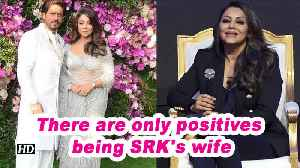 There are only positives being SRK's wife: Gauri Khan [Video]