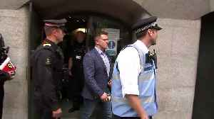 News video: Tommy Robinson found guilty of contempt of court