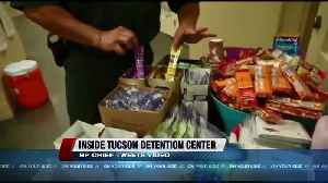 News video: Amid concerns over migrant holding facilities, Tucson Border Patrol Chief provides inside look