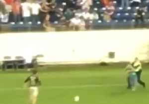 Field Invaders Pass Ball Before Being Tackled at Soccer Match in Tennessee [Video]