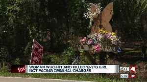 Woman who hit and killed a 12 year old gets a ticket [Video]
