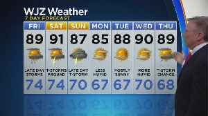 Bob Turk Has Your Independence Day Evening Forecast [Video]