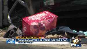 2 dead, 1 in critical condition after Mission Valley bus stop crash [Video]