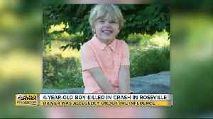 4-year-old boy killed in crash in Roseville [Video]