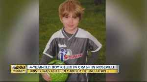 4-year-old boy killed in car crash in Roseville [Video]