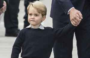 Prince George gets tennis lesson from Roger Federer [Video]