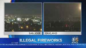 Illegal Fireworks Spark Dozens Of Bay Area Fires [Video]