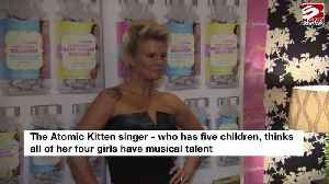 Kerry Katona wants daughters to form a girl band [Video]
