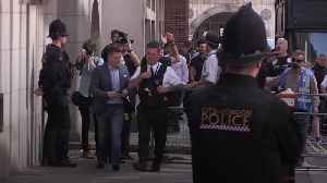 News video: Tommy Robinson faces jail after being found in contempt of court