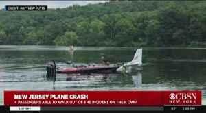 4 Safe After Small Plane Lands In Lake [Video]