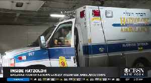 Exclusive: Inside Hatzoloh Volunteer Ambulance Corps [Video]
