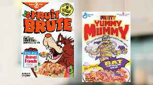 9 Notably Colorful Cereals No Longer on Shelves [Video]