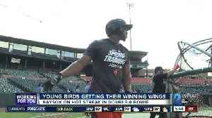 Young Orioles prospects getting winning wings in Bowie [Video]