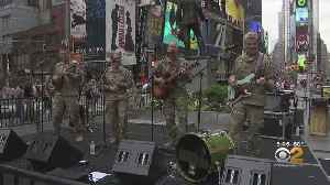 Medal Of Honor Recipient Honored In Times Square [Video]