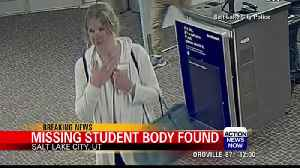 Body found of missing Utah college student [Video]