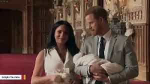 Prince Harry And Meghan Markle Just Released Photo Of Baby Archie's Christening [Video]