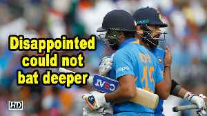 World Cup 2019 | Disappointed could not bat deeper: Rohit Sharma [Video]