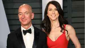News video: Amazon: Bezos' Divorce Final $38 Billion Settlement