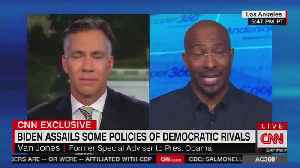 Van Jones questions Biden's tough guy act [Video]