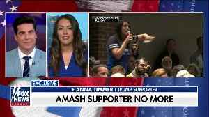 Woman calls out Rep. Amash at town hall for turning on Trump [Video]
