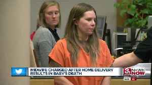 Unlicensed midwife charged with child abuse after home delivery infant death [Video]