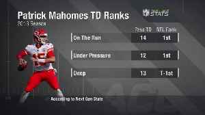 Next Gen Stats: Kansas City Chiefs quarterback Patrick Mahomes ranks in touchdowns in 2018 [Video]