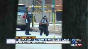 2 People shot in Baltimore on Pennsylvania Ave [Video]