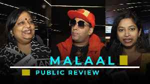 Malaal | Public Review | Moviegoers praise Meezaan & Sharmin's performance [Video]