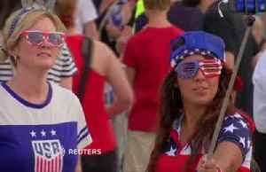 News video: World Cup final sees women's soccer join global sport big league
