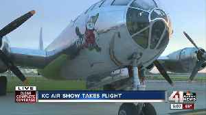 Thousands expected at KC Air Show [Video]
