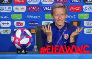 News video: Rapinoe slams FIFA over World Cup schedule, prize money