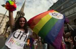 Streets of London throng with Pride revelers [Video]